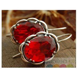 eb827ad7baa761 rubin gwiazdzisty sztyfty w kategorii Kolczyki - porównaj zanim kupisz