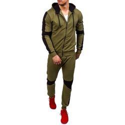 Zielony dres męski Denley 0490