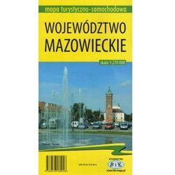 Województwo mazowieckie 1:270 000 (opr. miękka)