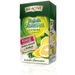 Big-Active Herbata zielona liściasta cytryna+pomelo