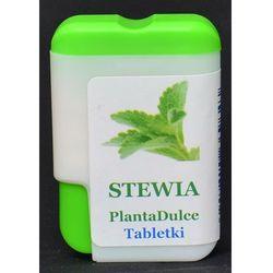 STEWIA W TABLETKACH 20% 12 g / 200 sztuk - PLANTA DULCE