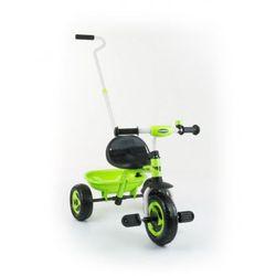 Milly Mally TURBO rowerek 3-kołowy green