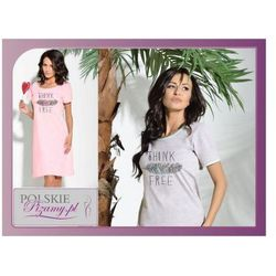 Koszula nocna AGNIESZKA: różowa