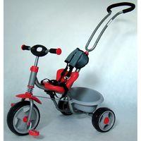 Milly Mally, Boby, rowerek 3-kołowy, czerwony Darmowa dostawa do sklepów SMYK