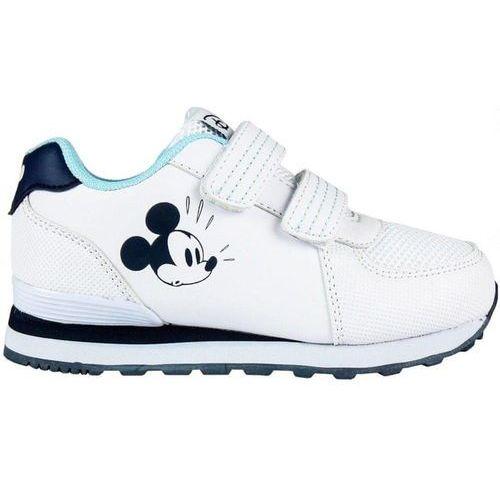 Disney tenisówki chłopięce Mickey Mouse 23 białeniebieskie