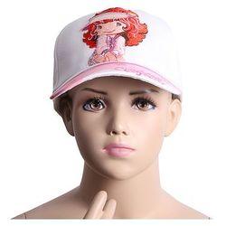 Truskawkowe ciastko czapki, hurtownia dla dzieci Biały