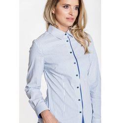 46565e90d3f7d2 koszule damskie sogo piekna koszula w pudrowym rozu (od Koszula w ...