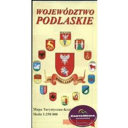 WOJEWÓDZTWO PODLASKIE - MAPA TURYSTYCZNA (opr. miękka)