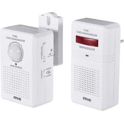 Czujnik wejścia m-e, 140°, zasięg detekcji 5 m, zasięg radia 40 m, 434 MHz, bezprzewodo