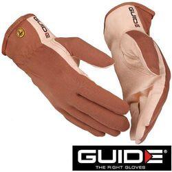 GUIDE Cienkie rękawice robocze ze skóry, elektrostatyczne 57- rozmiar 5 (223560707)