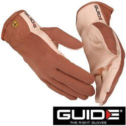 GUIDE Cienkie rękawice robocze ze skóry, elektrostatyczne 57- rozmiar 6 (223560715)