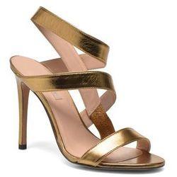 Sandały Pura Lopez Merida Damskie Złote 100 dni na zwrot lub wymianę
