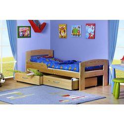 Łóżko parterowe Jaś 160x80 kolor