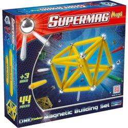 Supermag Maxi One Color, klocki magnetyczne, 44 elementy Darmowa dostawa do sklepów SMYK