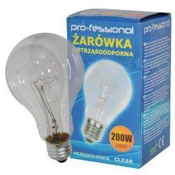Żarówka / E27 / A73 / 200 W / 2500 LM / Pro-fessional