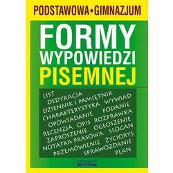 Formy wypowiedzi pisemnej SP i GIM LITERAT