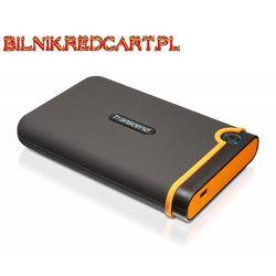 Transcend StoreJet 25 M2 1TB USB 2.0 (czarny) - produkt w magazynie - szybka wysyłka! Darmowy transport od 99 zł | Ponad 200 sklepów stacjonarnych | Okazje dnia!