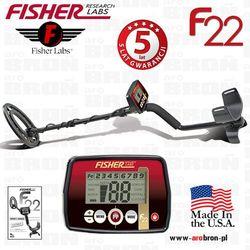 Wykrywacz metali Fisher F22 cewka 9