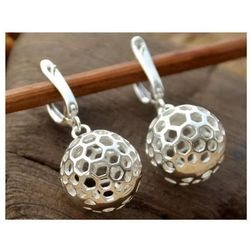 GRAFEN - srebrne kolczyki kule