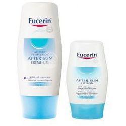 SET Eucerin SUN (U) krem-żel po opalaniu do skóry z alergią na słońce 150ml + mleczko po opalaniu do ciała 75ml