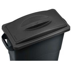 Kosz do segregacji śmieci Ekosort 60L, czarny