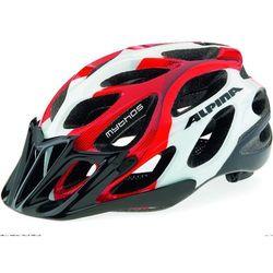 ALPINA Mythos 2.0 - Kask rowerowy, 52-57cm - Black-White Lines (52-57cm)