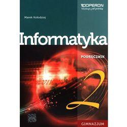 Informatyka GIM 2 Podręcznik + CD-ROM Operon (opr. miękka)