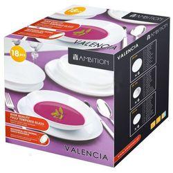 Komplet obiadowy Valencia 18 elem.