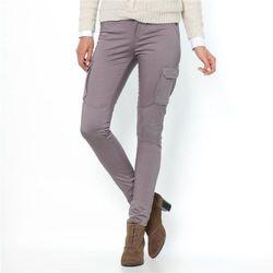 Spodnie bojówki, bawełna ze streczem