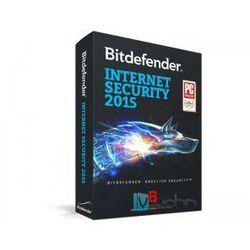 Bitdefender Internet Security 2015 PL - wersja na 5 komputery na 1 rok, licencja elektroniczna
