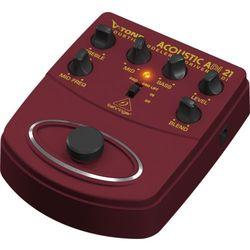 Behringer V-TONE ACOUSTIC DRIVER DI ADI21 efekt gitarowy z preampem i DI-boxem