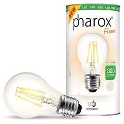 Żarówka Pharox LED A60 Flame 320 lumenów