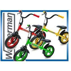 Rowerek biegowy, jeździk dziecięcy, hamulec