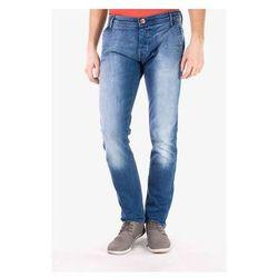 Jeansy slim fit Wrangler Spodnie Męskie Spencer 184EH46P ALL BLUE