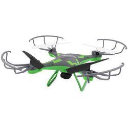 Dron OVERMAX X-Bee drone 3.1 Plus WiFi Szaro-zielony