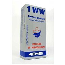 Płynna glukoza 1 WW o smaku truskawkowym 10 saszetek po 12 ml