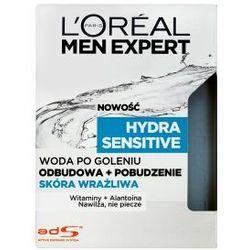 L'OREAL Men Expert Hydra Sensitive kosmetyki męskie - woda po goleniu do skóry wrażliwej 100ml