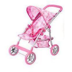 Wózek dla lalek spacerówka metalowa