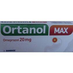Ortanol Max kaps.20mg x 7