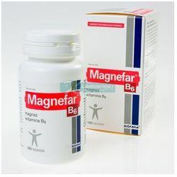 MAGNEFAR B6 100 tabletek