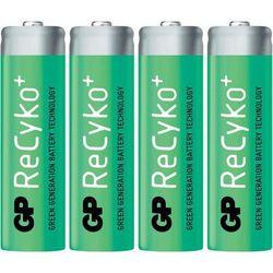 Akumulatory AA, NiMH GP Batteries Recyko AA, 1.2 V, 2000 mAh, 4 szt.