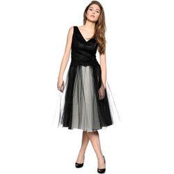 Sukienka z gipiurą