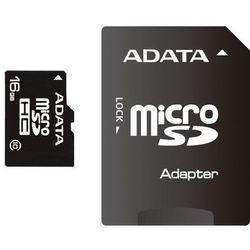 ADATA karta pamięci Micro SDHC 16 GB Class 10