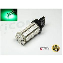 Żarówka Led W21W T20 41x SMD 5050 Zielony 7440