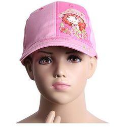 Truskaweczka czapki z daszkiem hurtownia, Truskawkowe ciastko Różowy Czarny