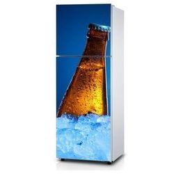 Naklejka na lodówkę - Butelka z rosą - Naklejka laminowana