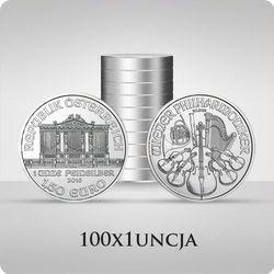 Wiedeńscy Filharmonicy 1 uncja srebra x 100