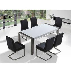Zestaw mebli stal szlachetna – Stół 180 – Krzesła do wyboru - ARCTIC I