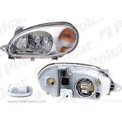 lampa przednia, reflektor świateł przednich LANOS (KLAT/J100) SDN/Hatchback, 01.1997-