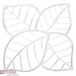 Panel dekoracyjny Koziol Leaf liście transparentny 4 szt. KZ-2043535